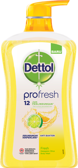 Sabun Cair Anti Bakteri Dettol Fresh
